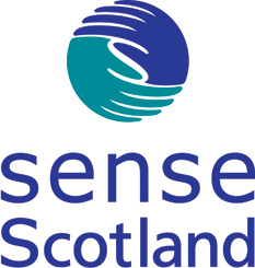 Sense Scotland Logo. Please click on logo to visit partner's website.